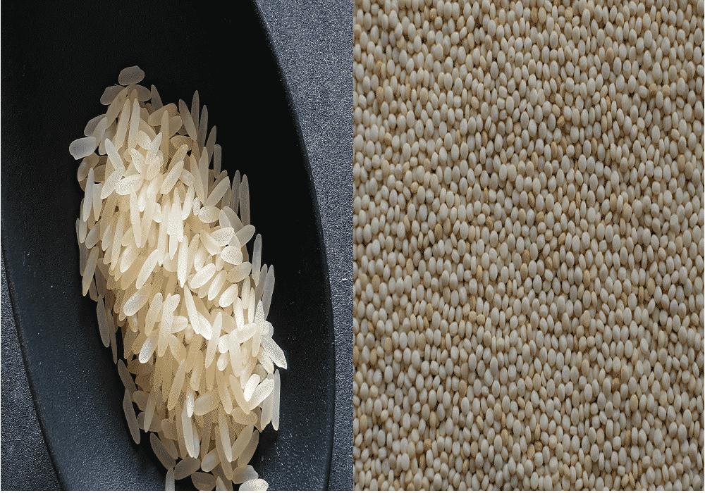 Bâton de pluie – riz ou semoule ?